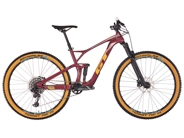 GT Bicycles Sensor Carbon Expert wine red/gumwall/glacier mint